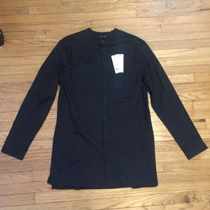 NWT Helmut Lang black pocket tag shirt - Large